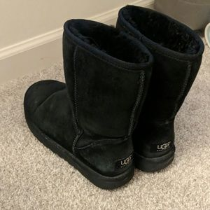 Gently Worn Classic Black UGGS